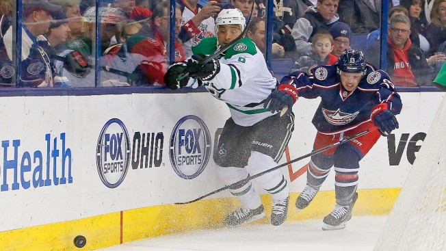 Stars Lose to Blue Jackets 4-2