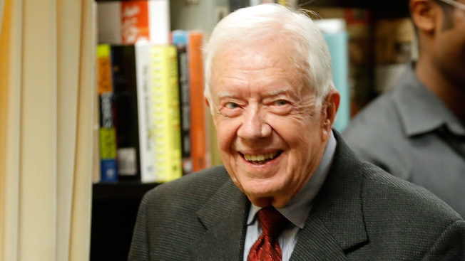 Jimmy Carter Speaking at Civil Rights Summit