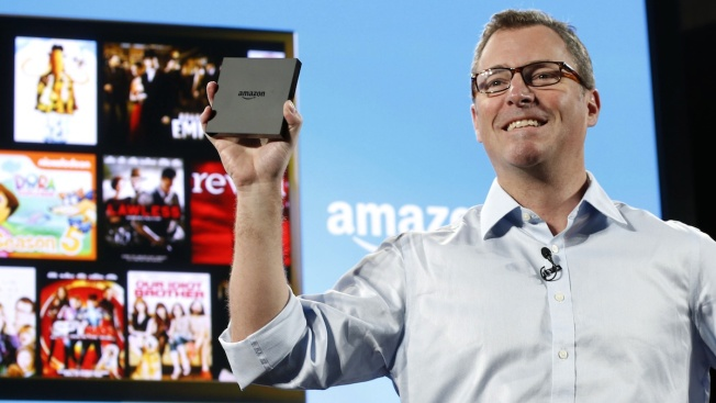 Amazon Unveils Fire TV Set Top Streaming Device