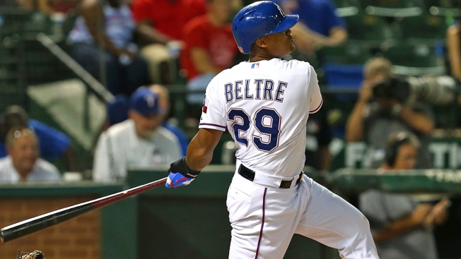 Beltre Hits High-Water Mark With Big Night