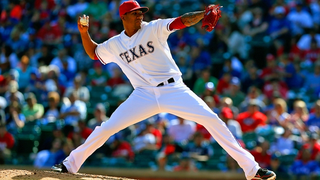 Where Are the Rangers' Relievers? Check Beantown