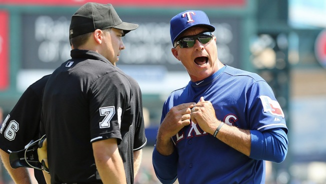 Beltre Wrongly Ejected on Banner Day