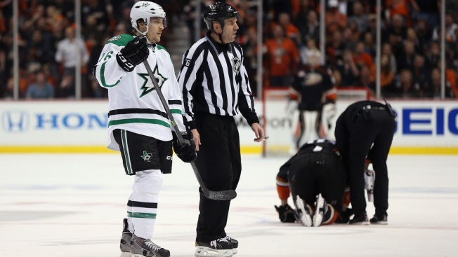 Dallas Forward Ryan Garbutt Fined by NHL