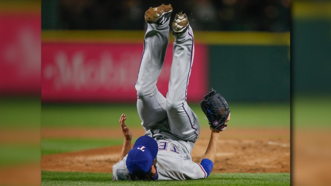 Hamels Suffers Scare, Perseveres in Solid Outing