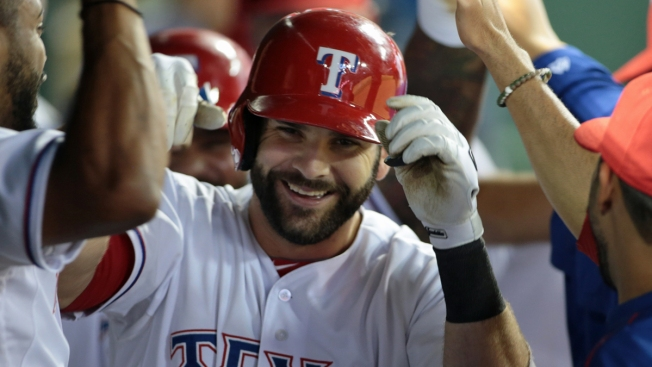 Moreland's Blast Turned Corner for Rangers