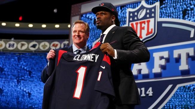 Texans Pick Clowney 1st, Manziel Waits