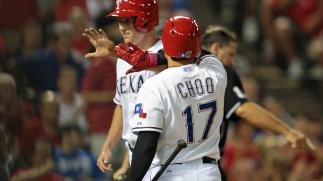 Choo Scores, Rangers Win