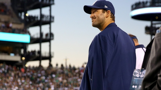Romo Not Worried About Collarbone Issues Lingering
