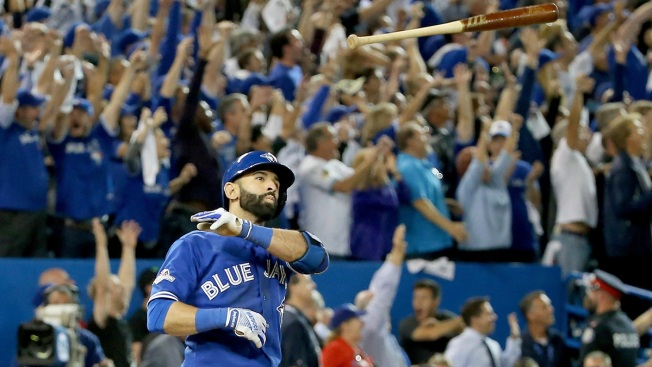 Bautista Bat Flip Infuriating, But Overblown