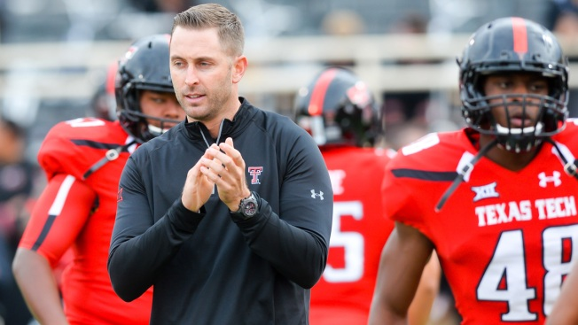 Kliff Kingsbury Knows it's Time to be More Defensive at Texas Tech
