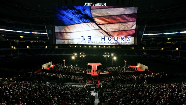 About 32K at AT&T Stadium in Texas for '13 Hours' Premiere
