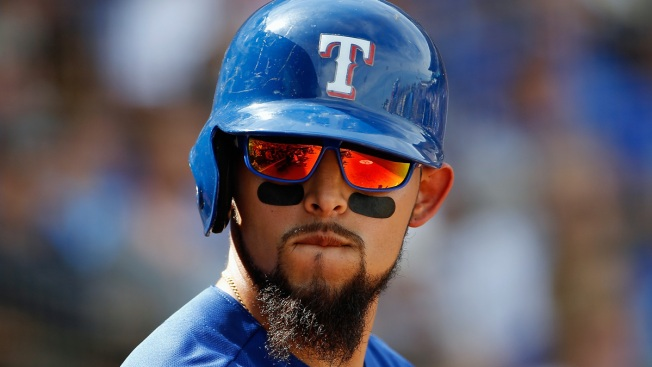 Odor Has 3 doubles, Rangers Overturn to Beat Angels 7-2