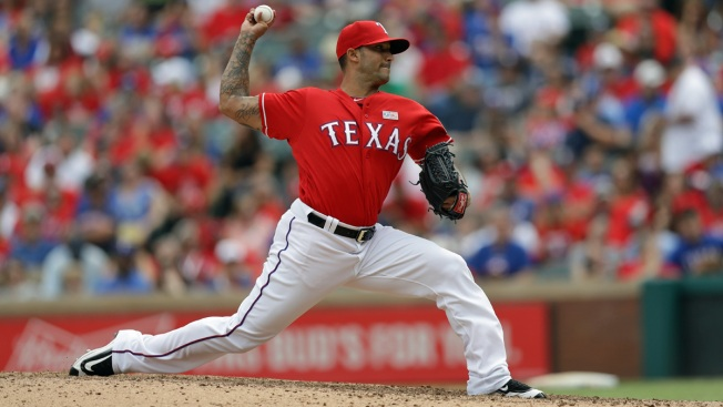 Rangers' Matt Bush Strives to Stay Sober and Keep Pitching