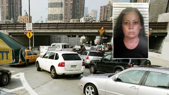 Woman Drives Into Oncoming Traffic to Avoid Drive to NJ