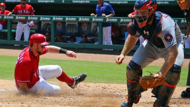 Fielder Homers, Rangers Beat Astros 5-3