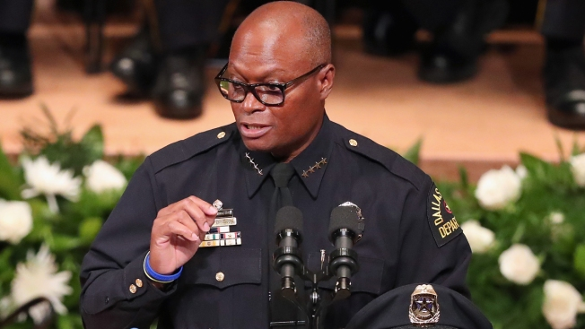 Former Dallas PD Chief David Brown Writing Memoir