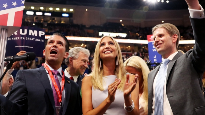 Trump Family Drops Access Offered for Charity Donations