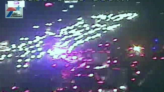 Southbound Interstate 635 Reopened in Mesquite After Crash
