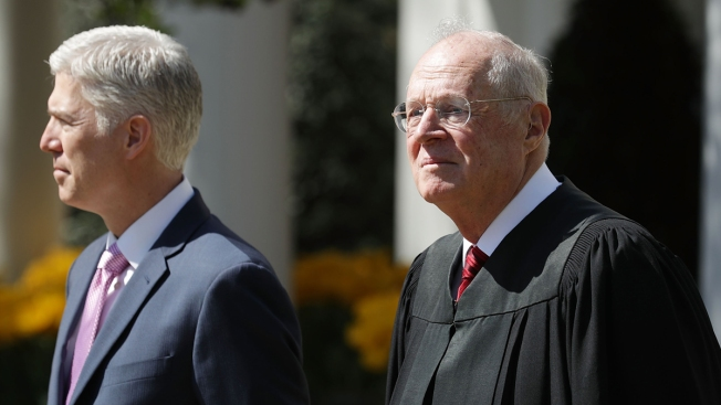 Amid Retirement Rumors, Supreme Court Justice Kennedy Isn't Talking