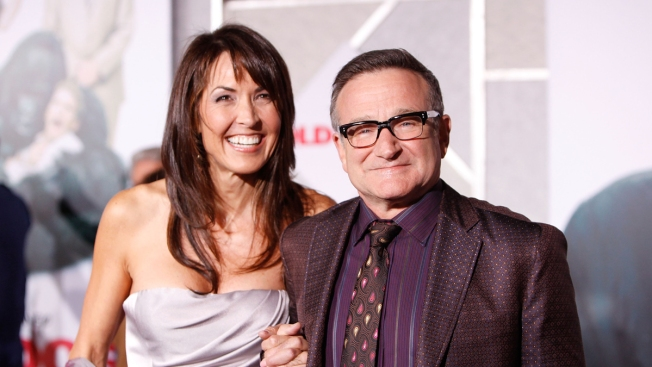 Robin Williams' Widow: 'I Don't Blame Him One Bit'