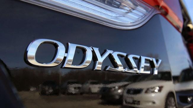 Honda Recalls 344,000 Odyssey Minivans