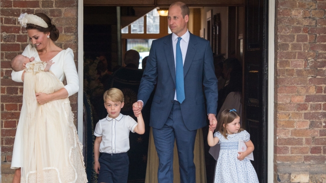 Prince Louis, 3rd Child of William and Kate, Is Christened