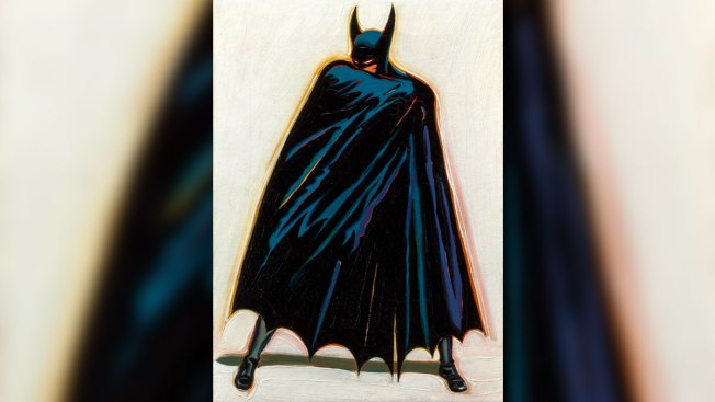 Batman Painting Expected to Bring More Than $100,000