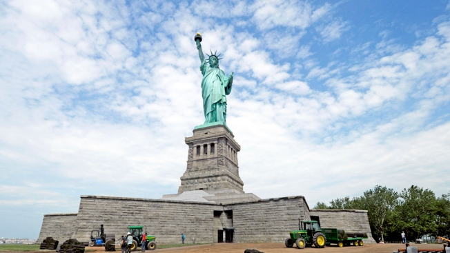 Statue of Liberty to Appear to Wear Bow Tie on Halloween: Report