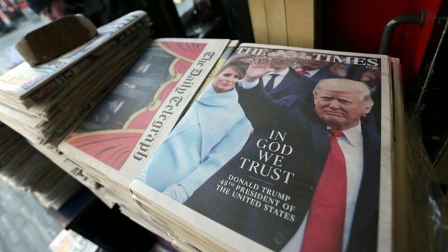 'In God We Trust': Newspapers Around the World React to Trump Inauguration