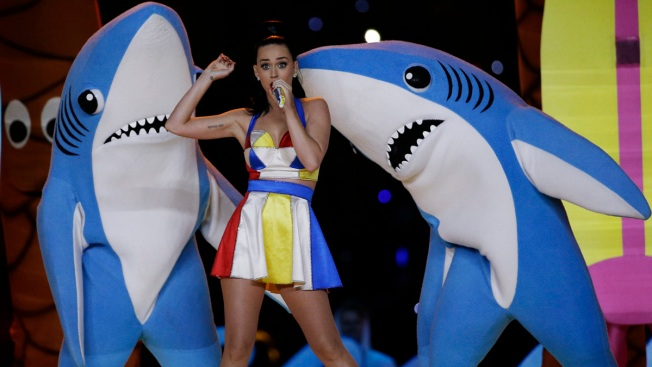 Katy Perry's Dancing Shark Takes Bite Out of Artist's Idea