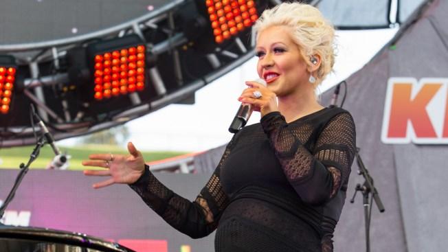 Christina Aguilera Reveals Her Baby Girl's Name