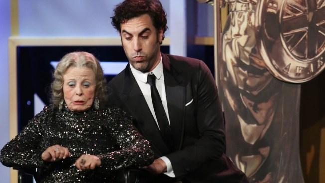 Sacha Baron Cohen Pranks BAFTA LA Awards