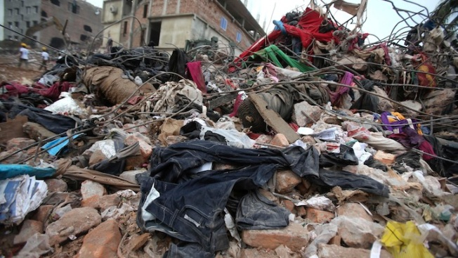 Bangladesh Factory Rubble Helps Labor Groups Track Silent Retailers