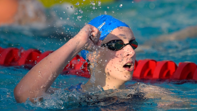 Ledecky Breaks World Record in 400m Freestyle