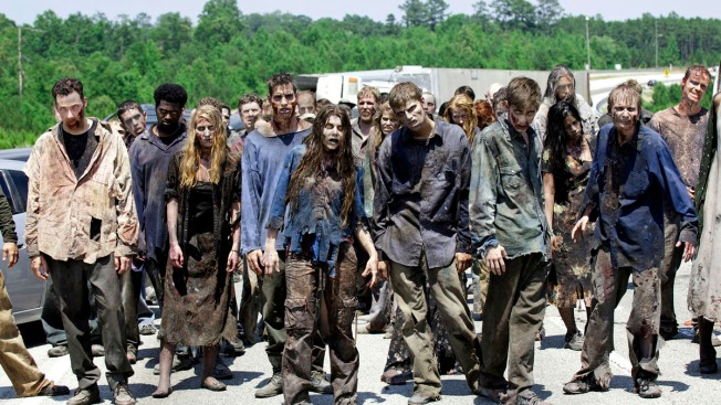 """""""Walking Dead"""" Brings New Life to Ga. Town"""