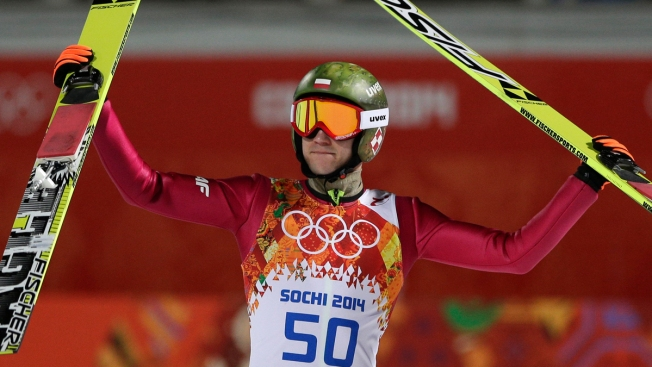 Poland's Kamil Stoch Wins Olympic Gold Double in Ski Jumping