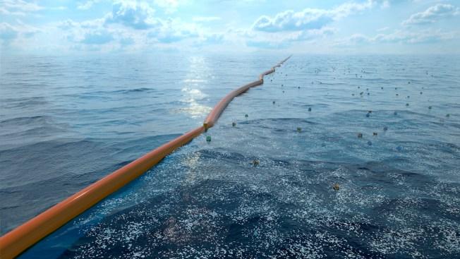 Huge Trash-Collecting Boom in Pacific Ocean Breaks Apart