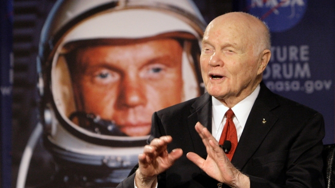 John Glenn, Former Astronaut and US Senator, Hospitalized in Ohio