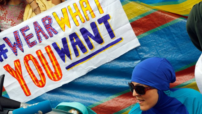 French Burkini Bans Face Legal Challenge as Tension Mounts