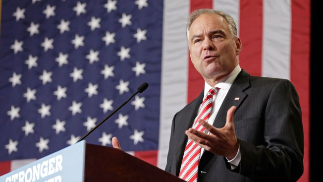 Kaine's Many Attacks Fail to Get Trump's Attention