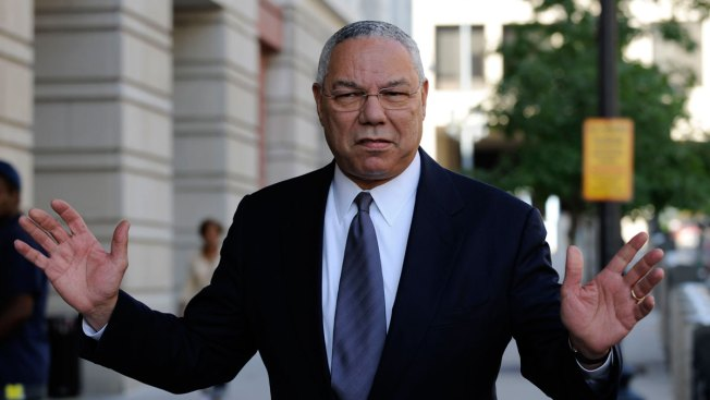 Donald Trump Brushes Off Colin Powell's 'National Disgrace' Remark