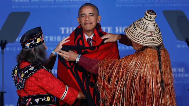 US Making Progress on Native American Issues: Obama