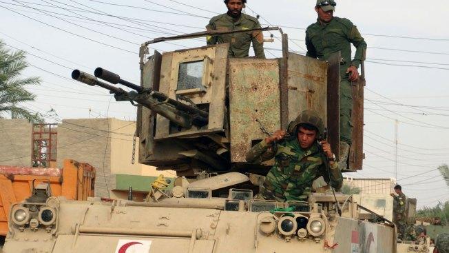 Shiite Militias Launch Operation Near Iraq's Mosul
