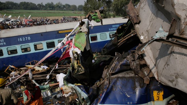 115 Dead as Train Derails in North India; Some Still Trapped