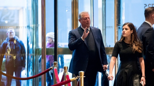 Al Gore Visits Trump Tower for 'Extremely Interesting' Talk With President-Elect