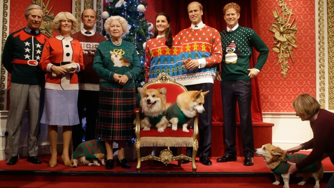 Royals, They're Just Like Us: 'Royal Family' Dons Ugly Christmas Sweaters for Charity