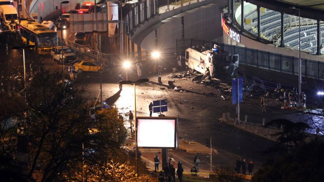 Turkish Police Detain 235 People After Deadly Bombing Attack