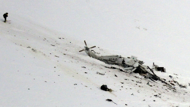 6 Die in Helicopter Crash Near Site of Italy Avalanche