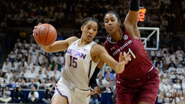 UConn Women's Basketball Gets 100th Straight Win