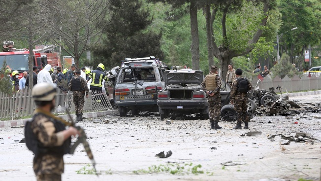 Attack on US Convoy Kills 8 Afghans, Wounds 3 US Soldiers